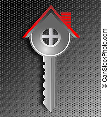 real estate business house key