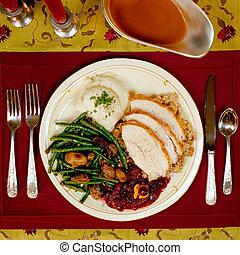 dziękczynienie, obiad