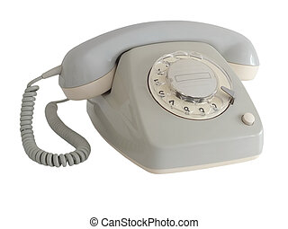 Telephone - Image of a rotary phone