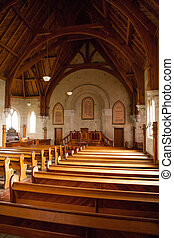 Interior of Ross Uniting Church -