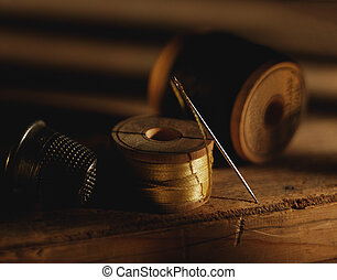 Needle and thread - Picture of Needle and thread