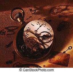 Broken watch - Picture of Broken watch