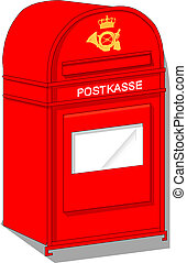 Vector Postbox Icon