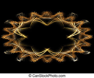 abstract background - colorful abstract background frame or...