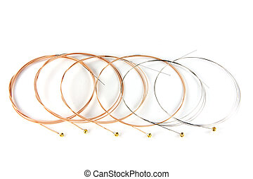 Bronze Acoustic Guitar Strings - 6 ultra thin coating...