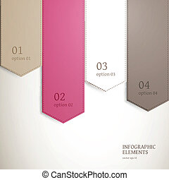 Vector Infographic Elements - Vector Illustration of Modern...