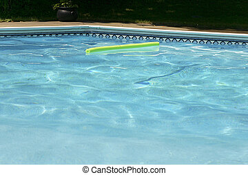 pool water - low view of the water in a pool