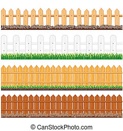 Wooden Fence Collection
