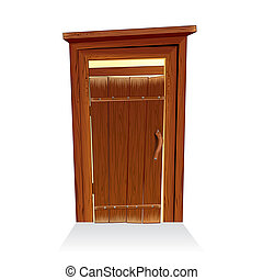 Wooden Toilet House, Countryside Lavatory
