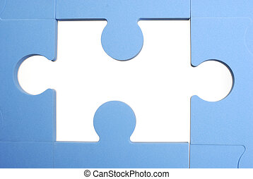 Piece of the puzzle - Conceptual missing piece of the...