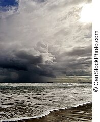 Stormy weather....