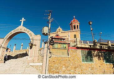 the church of Santo Cristo del Ojo de Agua in Saltillo, Mexico