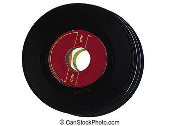 Entertainment, 45, Arts, Antique, 45 RPM, Advancing...