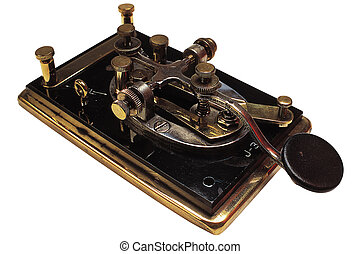 Morse Code, Antique, Industry, Household Objects,...