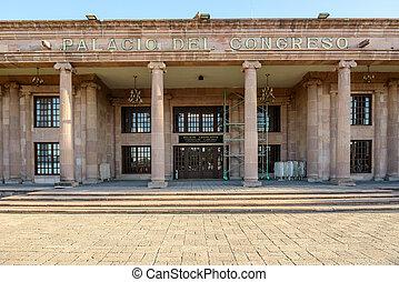 Palacid del congreso in Saltillo, Mexico