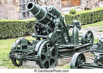 Austro Hungarian WWI Siege Howitzer - Austro Hungarian WWI...
