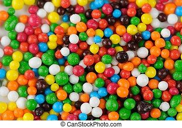 multicolor, azúcar, asperja, (Edible, Cupcake,...