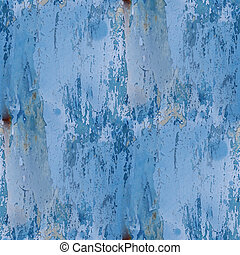 seamless texture band blue background metal rust rusty old...