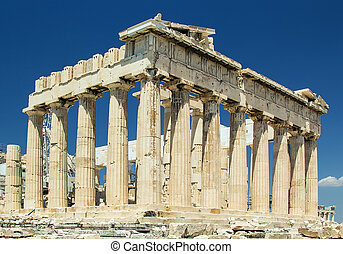 Parthenon, Athens - The Parthenon is a temple on the...