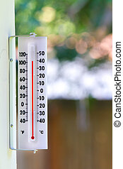 Summer Heat wave - Temps during a summer heat wave are...