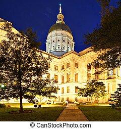 estado,  Geórgia,  capitol