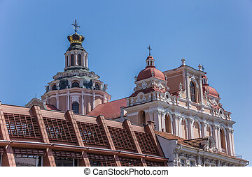 Top of St Casimir church - Top of St Casimir church in...