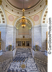 Washington State Capitol Rotunda Chandelier - Washington...