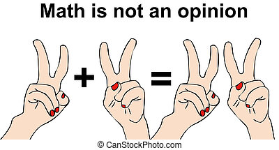 Math is not an opinion