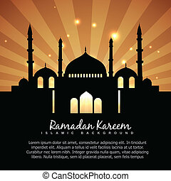 ramadan kareem islamic background - beautiful ramdan kareem...