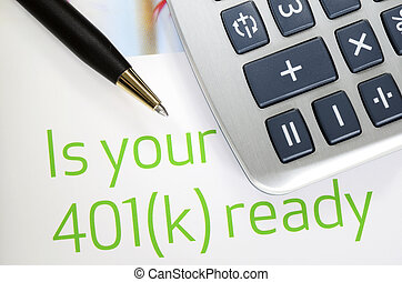 Investment in the 401K plan - Focus on the investment in the...