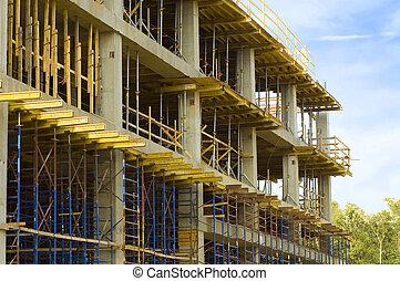 Building under Construction - A building under contruction...