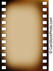 Old grunge film strip