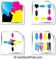 CMYK designs