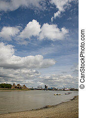 River Thames - A view of the river thames in London