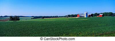 Green Maryland Farm