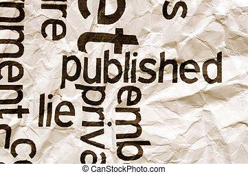 Published lie