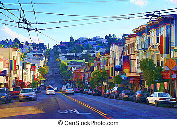 San Francisco - Castro is one of the United States' first...