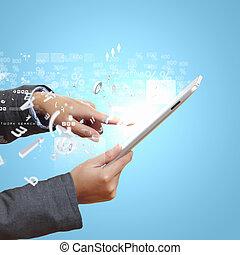 Touch screen computer device - Modern wireless technology...