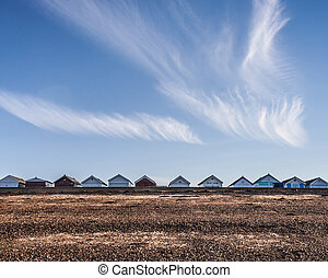 Beach Huts southend essex