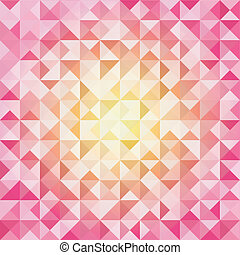 Colorful Mosaic Background