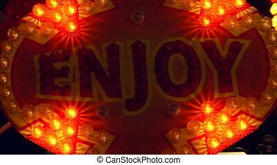 light decoration enjoy