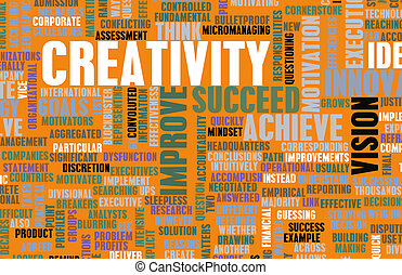 Creativity and Inspiration as a Art Concept