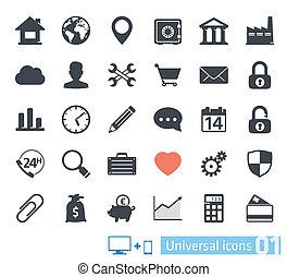 Universal icons