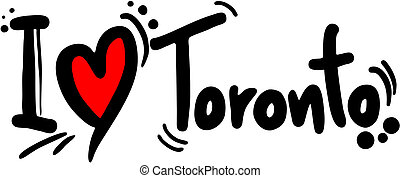 Love toronto - Creative design of love toronto