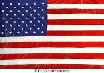 American flag - Bold colors of an American flag background