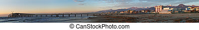 Versilia and Apuan Alps - View of the apuan alps from the...