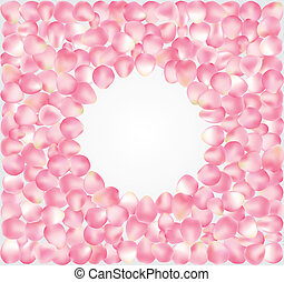 petal background - vector illustration of background,...