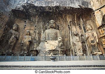chinese longmen buddha statues - longmen buddha statues,it...