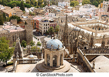 Glimpse of Seville, Spain