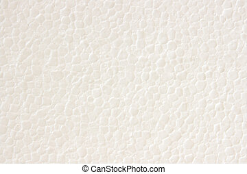 Styrofoam plastic texture - Close up of white styrofoam...